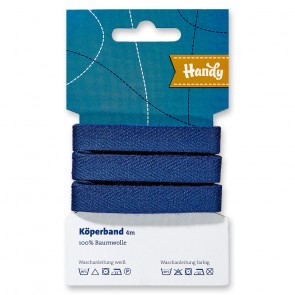 Köperband HANDY-SB blau 13mm; 4m