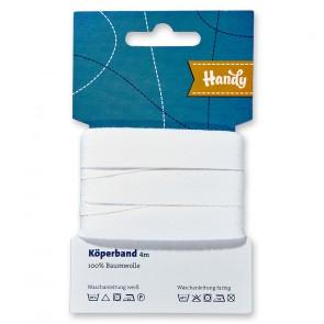 Köperband HANDY-SB weiß 17mm; 4m
