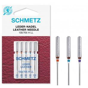 SCHMETZ Leder 130/705 H LL 80-100  5 Ndl.