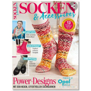 Broschüre OPAL Socken: Socken & Accessoires