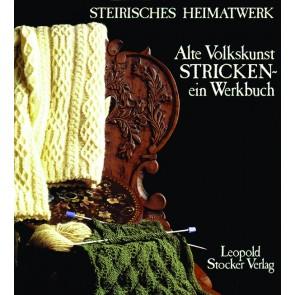 Brosch.STOCKER: Alt.Volkskunst Strick.