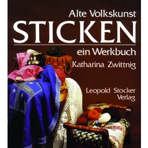 Brosch.STOCKER: Alte Volkskunst Sticken