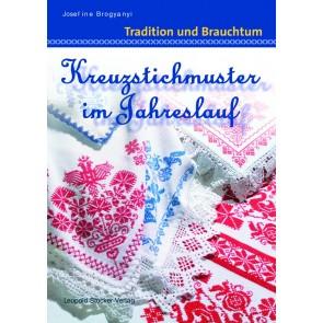 Brosch.STOCKER: Kreuzstichm.i.Jahreslauf