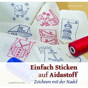 Brosch.STOCKER:  Sticken auf Aidastoff