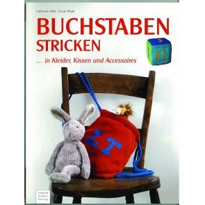Brosch.STOCKER: Buchstaben stricken