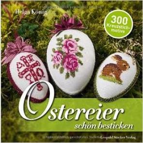 Brosch.STOCKER: Ostereier schön bestickt