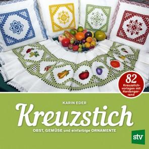 Brosch.STOCKER: KREUZSTICH Obst, Gemüse...