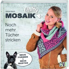 CV CraSy Mosaik - Noch mehr Tücher stricken