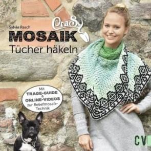 CV CraSy Mosaik - Dreieckstücher häkeln