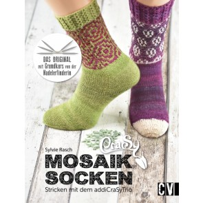 CV CraSy Mosaik Socken - Stricken