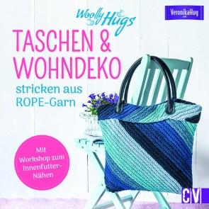 CV Woolly Hugs Taschen & Wohn-Deko stricken aus ROPE-Garn