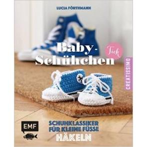 EMF Baby-Schühchen Tick häkeln