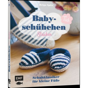 EMF Baby-Schühchen Tick stricken