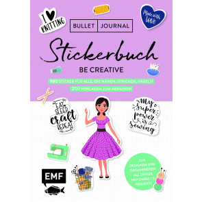 EMF Stickerbuch Be creative