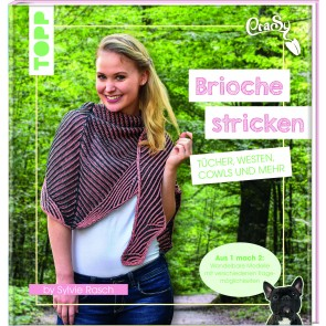 TOPP Brioche-Tücher stricken