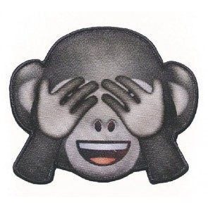 Appl. EMOJI Affe nicht sehen