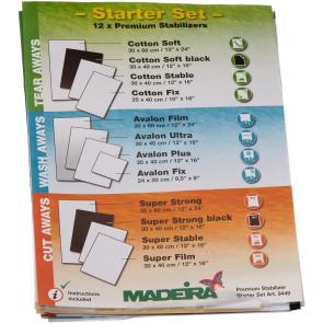 Stickvlies MADEIRA - Starter Set