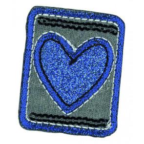 App. HANDY21 Herz blau im Viereck