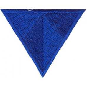 App. HANDY Dreieck blitz-blau