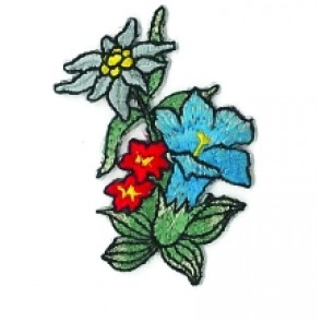 App. HANDY Edelweiss mit bunten Blumen