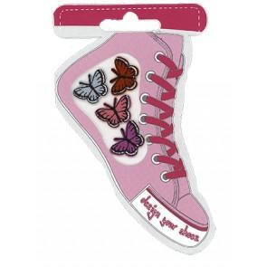 Schuhmotive Design your Shoes Schmetterlinge