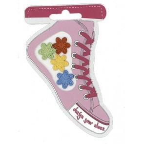 Schuhmotive Design your Shoes Blumen