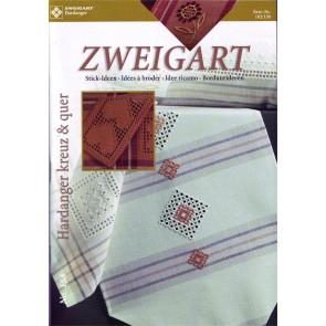 ZWEIGART-Brosch. Hardanger kreuz&quer*