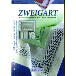 ZWEIGART-Brosch. Hohlsaum
