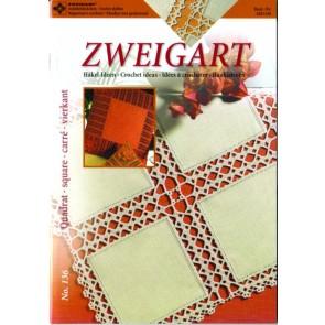 ZWEIGART-Brosch Häkeln Quadrat
