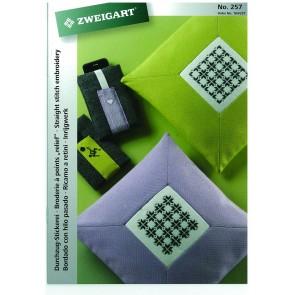 ZWEIGART-Brosch. Durchzug-Stickerei