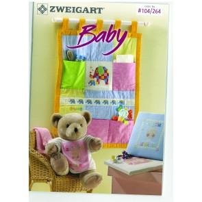 ZWEIGART-Brosch Baby