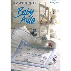ZWEIGART-Brosch. Baby Aida