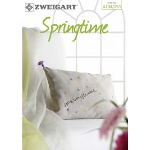 ZWEIGART-Brosch Springtime