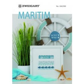 ZWEIGART-Brosch. Maritim  Chartheft