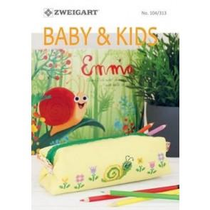 ZWEIGART-Brosch. Baby & Kids