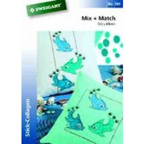 ZWEIGART-Brosch. Mix + Match *