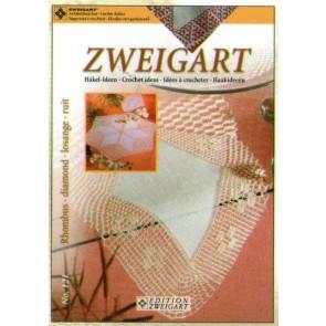 ZWEIGART-Brosch. Häkel Rhombus*