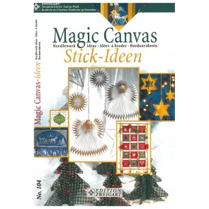 ZWEIGART-Brosch. Magic Canvas Ideen*