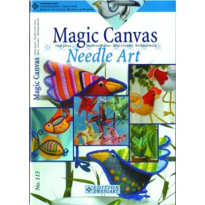 ZWEIGART-Brosch. Magic Canvas Needle Art*